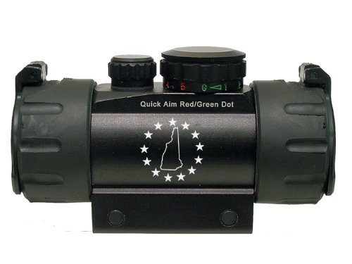 Nh New Hampshire With Stars Engraved Leapers Utg Red Or Green Dot Cqb Tactical Sight By Ndz Performance