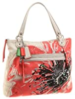 Coach 19029 Limited Edition Flower Glam Shopper Tote