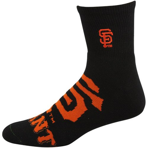 MLB San Francisco Giants Big Logo Sock   Black