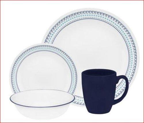 corelle-decoratif-folk-point-16-pieces-disponible-en-couleur-bleu