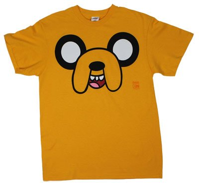 Cartoon Network Adult Adventure Time Jake Face