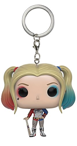 Funko 024937 Pocket Pop Suicide Squad Harley Quinn Keychain