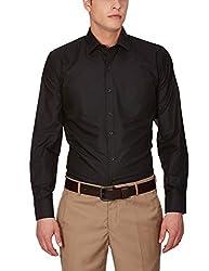 Arihant Men's Formal Plain/Solid Regular Fit Poly Cotton Shirt(AR7124842)