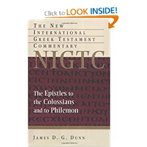 Amazon.com: The Epistles to the Colossians and to Philemon: A ...