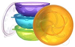 Munchkin 4 Pack Stack A Bowls (Discontinued by Manufacturer)