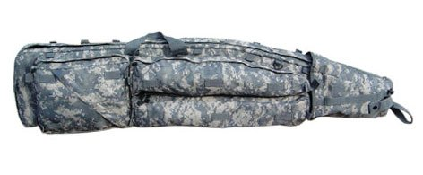 MOLLE Sniper Drag Bag Rifle Gun Case--ACU
