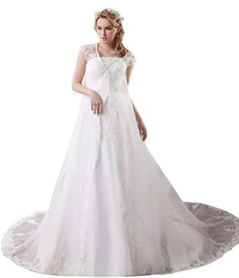 Herafa wedding dress elegant at amazon women s for Amazon cheap wedding dresses