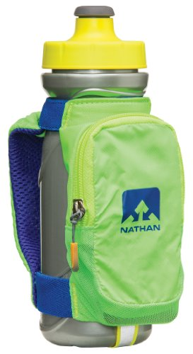 Nathan Quickdraw Plus Handheld 22-Ounce Bottle Carrier with Pocket