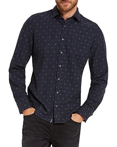 Marc O'Polo Camisa Hombre Azul Noche