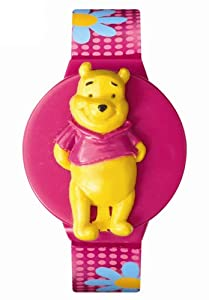 Disney Kids' MU2531P Winnie the Pooh Interchangeable Watch Set