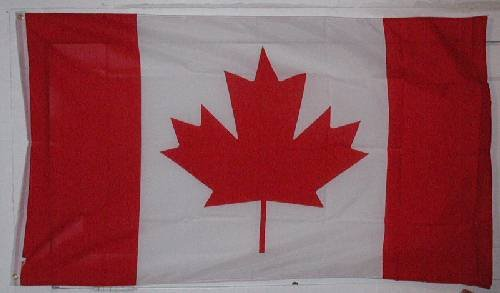 Canada Flag - - 3x5 Foot Canadian flag