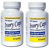 Ivory Caps Skin Lightening Whitening Support Pill (Pack of 2)