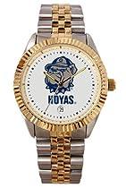Georgetown University Hoyas Mens Executive Stainless Steel Watch