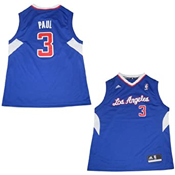 NBA Los Angeles Clippers Paul #3 Youth Pro Quality Jersey Top by NBA