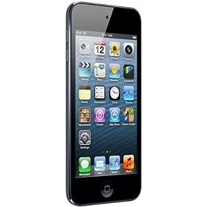 """Apple iPod Touch 5G 32GB - Reproductor de MP3 (32 GB, pantalla táctil de 4"""", Wifi, Bluetooth, cámara 5 Mp) Negro"""