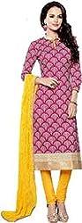 Vastrakosh Women's Silk Cotton Unstitched Dress Material (Vastra_5_Multicoloured_42)