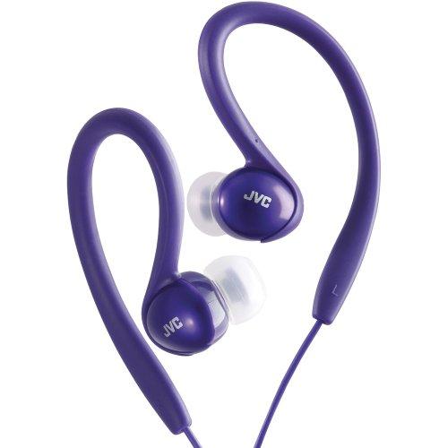 Jvc Ha-Ebx5-V Sport-Clip In-Ear Headphones (Violet) Jvc Ha-Ebx5-V Sport-Clip In-Ear Headphones (Vio