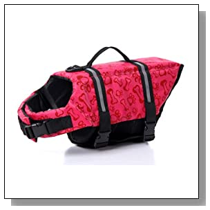 Lovely Baby Cute Pets Lifejackets Dogs Safety Clothing YC-D-LJ4001-PE-XS