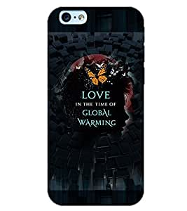 PrintDhaba LOVE THEME D-6538 Back Case Cover for APPLE IPHONE 6 (Multi-Coloured)