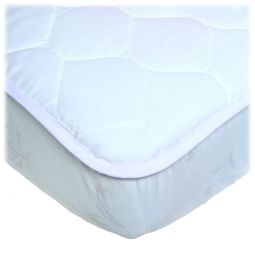 UltraSoft Quilted Crib Mattress Pad - 1