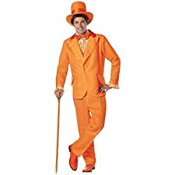 Adult Dumb and Dumber Lloyd Orange Tuxedo Costume - One Size Fits Most TRG