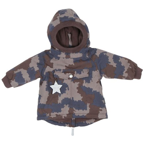 mini a ture Winterjacke Baby Wen - dark shadow - Größe 68 - SALE