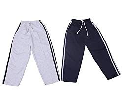 WEE CARE Cotton Track Pant Set of 2 for Boys (WEE CARE_3)