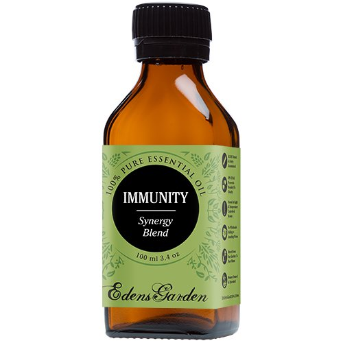 Immunity Synergy Blend Essential Oil (previously known as Renew) by Edens Garden (Frankincense, Tea Tree, Rosemary, Lemon, Eucalyptus & Sweet Orange)- 100 ml