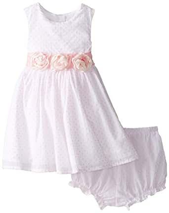 Amazon Laura Ashley London Baby Girls Rosette Waist