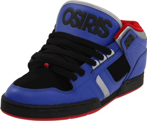 Osiris Men's NYC83 Black/Red/Chrome Trainer 1130-1253 11 UK