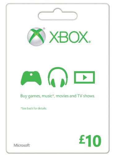 Xbox Live 10 GBP Gift Card Online Code (Xbox One)