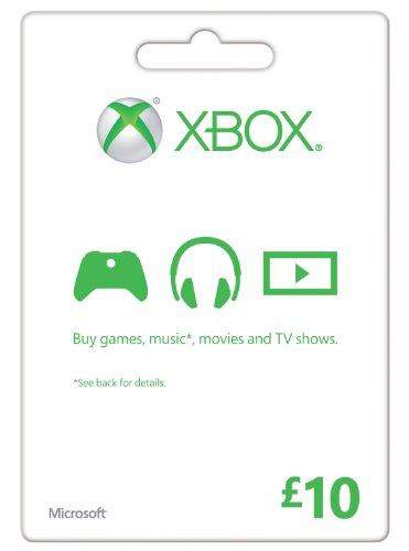 Microsoft Gift Card 10 GBP Xbox One/360 Online Code (XBOX 360)
