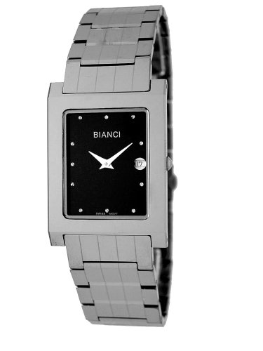BULOVA Watches:Roberto Bianci Men's 9063M_BLK Tungsten Watch Images