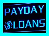 ADV PRO i060-b Payday Loans Enseigne Lumineuse Neon Light Sign