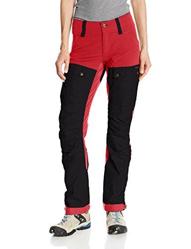 fjallraven-keb-w-pantalon-rouge-36-womens-technique-g-1000-durable-r-eco-pantalon-de-trekking