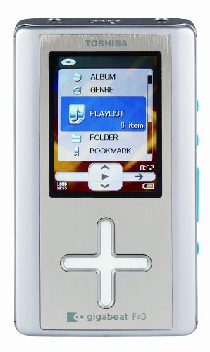 Toshiba Gigabeat MEG-F40S 40 GB Digital Audio Player Silver
