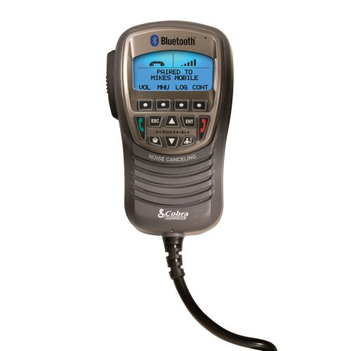 Cobra Mr F300Bt Waterproof Marine Handset With Bluetooth Wireless Technology For Use With Bluetooth-Enabled Cell Phones