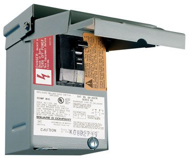 Square D Safety Switch Non-Fusible 60 Amp 240 V Boxed
