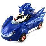 NKOK Sonic and Sega All-Stars Racing Pull Back Car - Sonic the Hedgehog