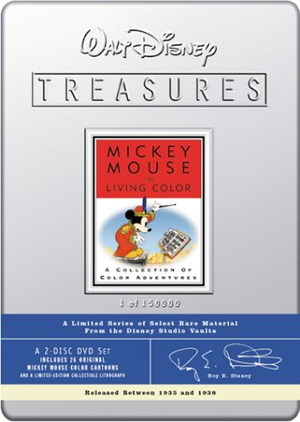 Walt Disney Treasures - Mickey Mouse in Living Color (Living Color Dvd compare prices)