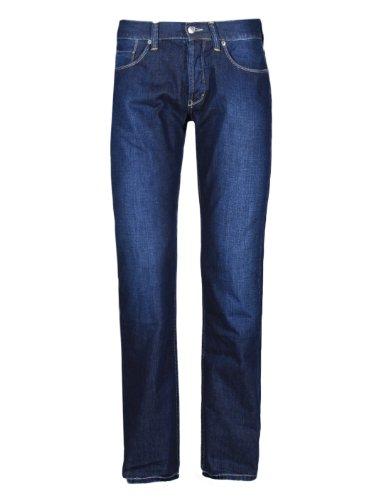 Jeans ETHAN Denim bleu moyen 100% coton Ober W38 L34 Men's