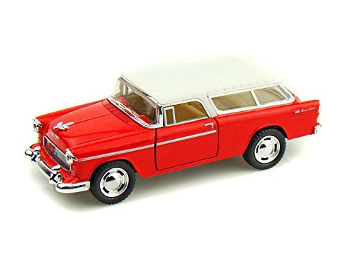 1955 Chevy Nomad 1/40 Red
