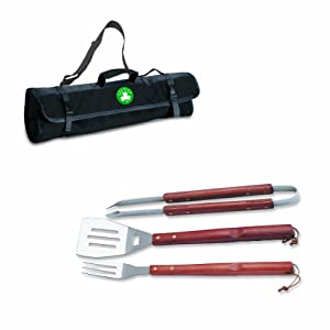NBA Boston Celtics 3-Piece BBQ Tool Set with Carry Tote by Picnic Time