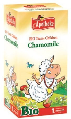 Chamomile Organic Tea For Babies From 1 Week + By Apotheke