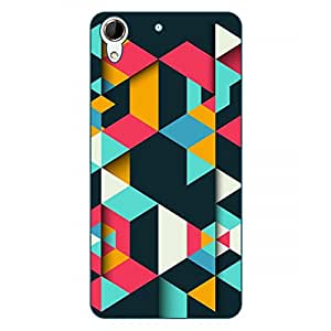 Happoz HTC Desire 728 Cases Back Cover Mobile Pouches Shell Hard Plastic Graphic Armour Premium Printed Designer Cartoon Girl 3D Funky Fancy Slim Graffiti Imported Cute Colurful Stylish Boys D371