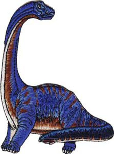 Application Purple Brontosaurus Patch