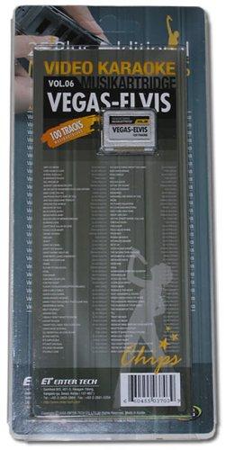 Leadsinger Ls-3C06 Vegas And Elvis Cartridge For Ls-3000 Series Karaoke System (100 Songs)