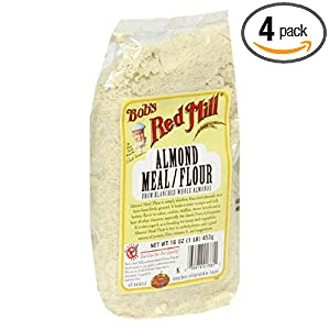 Click to buy Weight Loss Management Product: Bob's Red Mill Almond Meal/Flour, 16-Ounce Packages (Pack of 4) from Amazon!