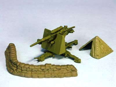 ドイツ軍 88ミリ高射砲   36型  アフリカ戦線(ダークイエロー)