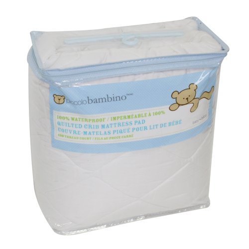Piccolo Bambino Quilted Waterproof Mattress Pad